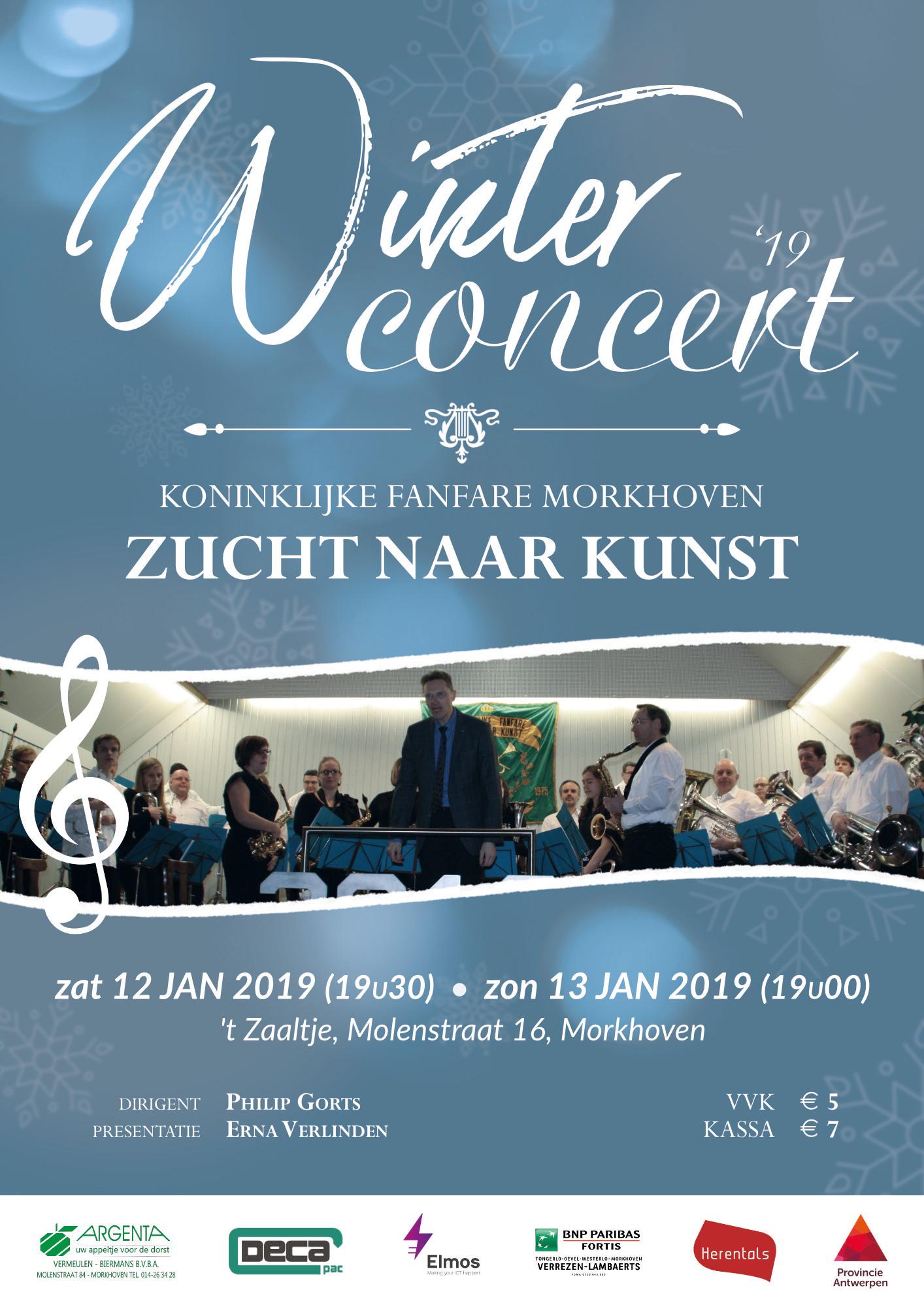 Flyer Winterconcert 2019